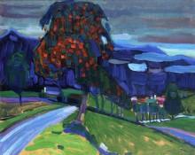Осень в Мурнау, 1908 - Кандинский, Василий Васильевич