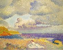 Перед грозой (Купальщица), 1907-08 - Кросс, Анри Эдмон