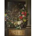 Святые с цветочной гирляндой - Паж, Адриан де