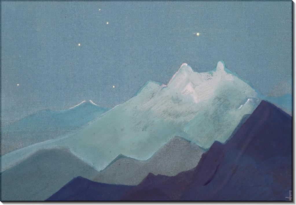 Гималаи (Лунные горы) - Рерих, Николай Константинович