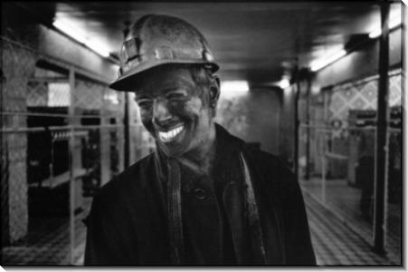 Улыбающийся шахтер - Шербел, Шепард