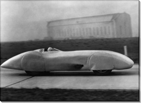 Попытка рекорда скорости на земле
