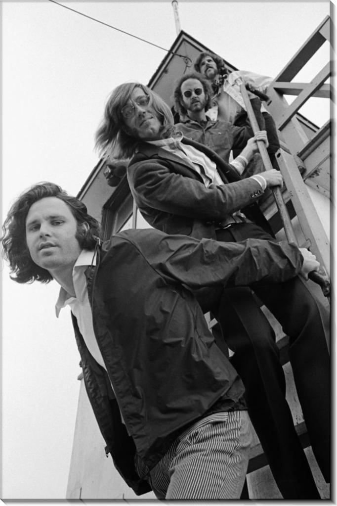 """Группа """"""""Зе Дорс"""" на спасательной башне - Дилтц, Генри"""