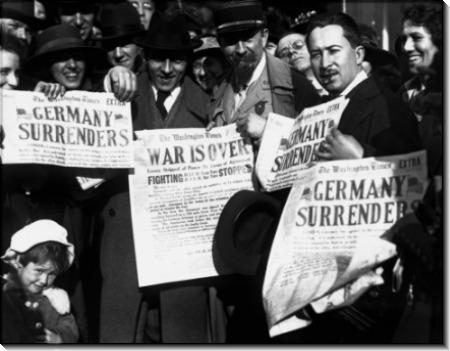 Заголовки газет на День перемирия