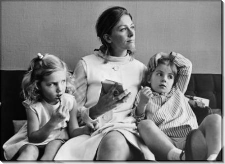 Ванесса Редгрейв и ее дочери