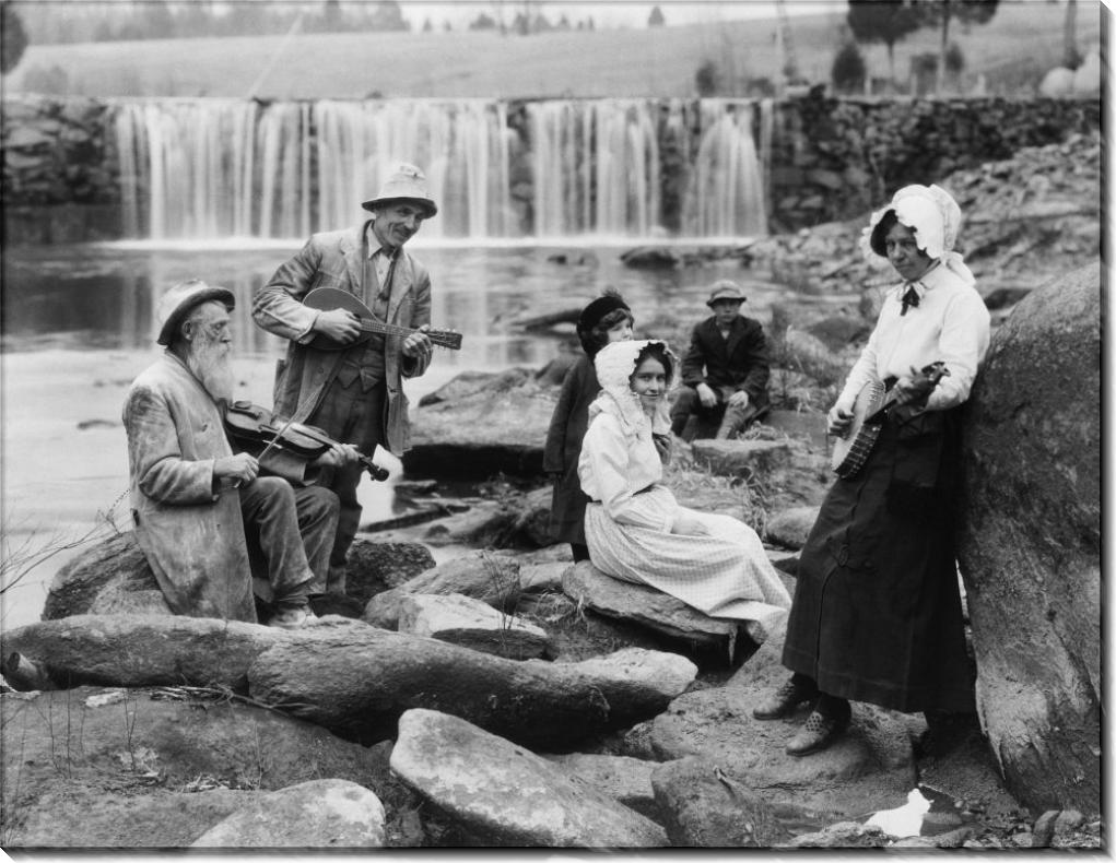 Музыкальные группы на реке