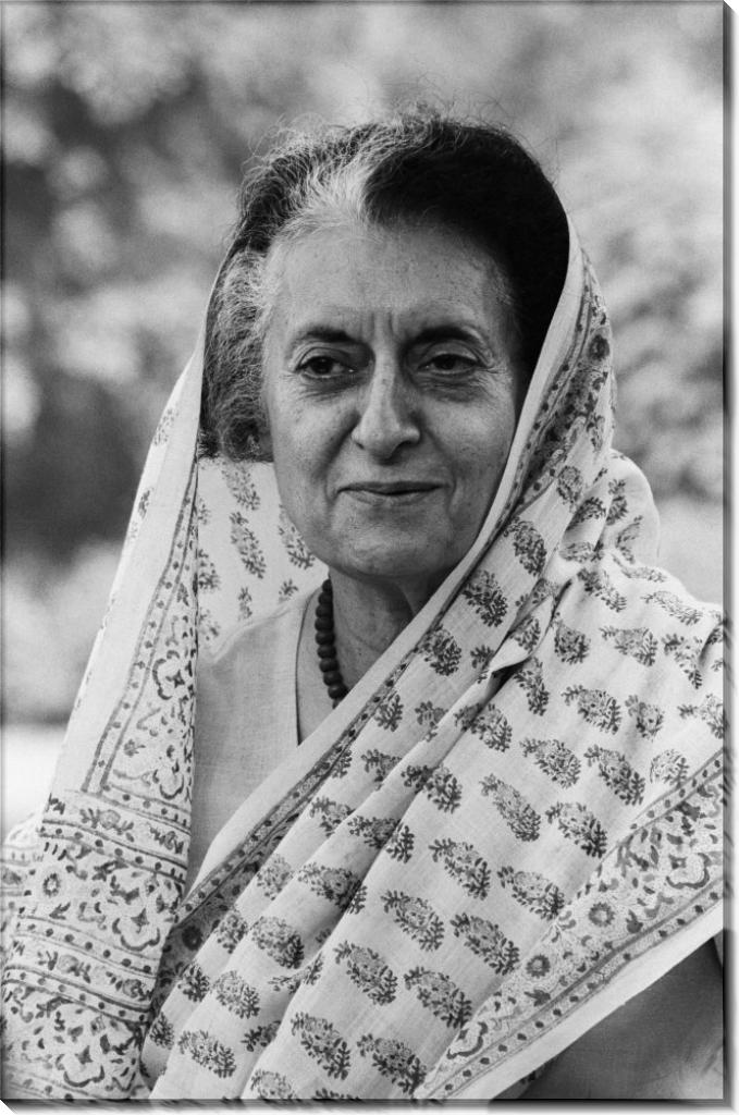 Индира Ганди незадолго до своей смерти