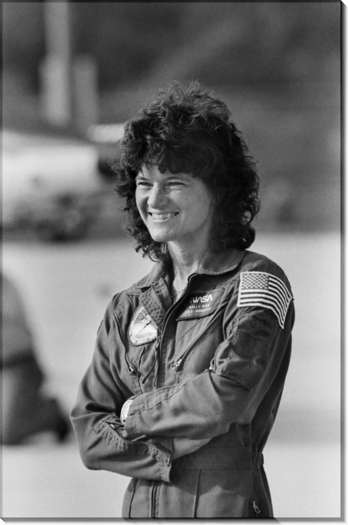 Салли Райд, первая женщина астронавт США
