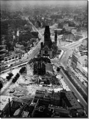 Разбомбленные церкви в Берлине