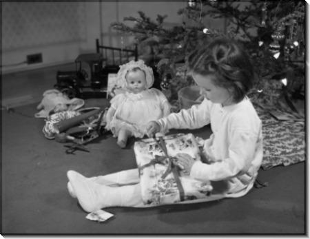 Девочка с подарком - Гэндро,Филипп
