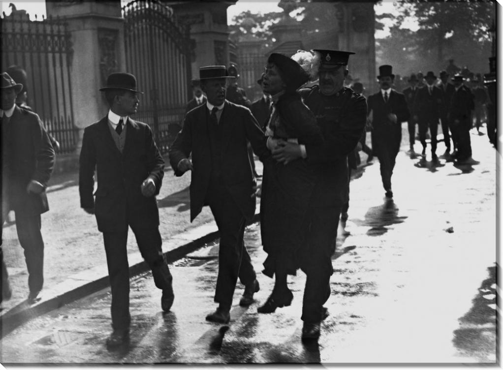 Арест Эммелина Панкхерста,  руководителя суфражисток