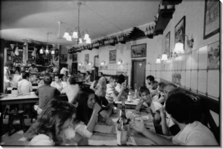 Обедающие в флорентийском ресторане - Лис, Дэвид