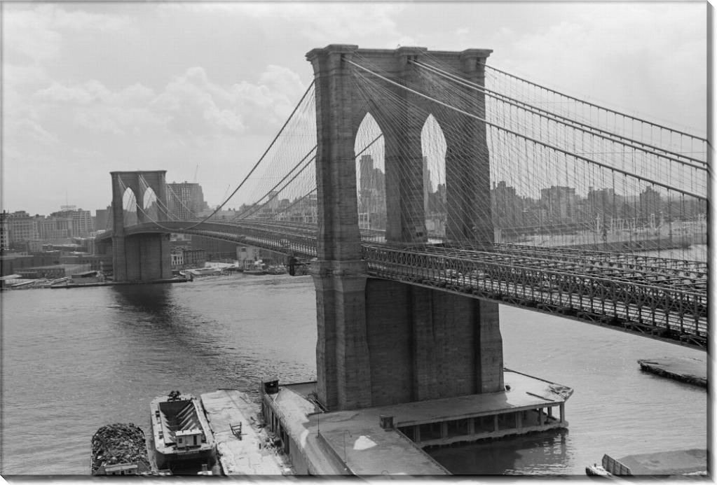 Бруклинский мост и Манхэттен - Гендро, Филипп
