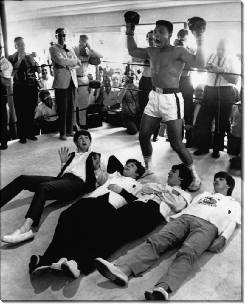 Мухаммед Али покоряет Beatles (Битлз)