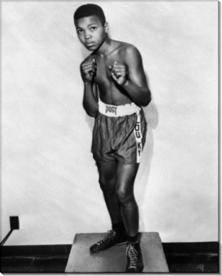 12-летний Кассиус Клей (позже Мохаммед Али)