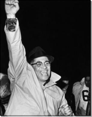 Американский футбольный тренер Винс Ломбарди