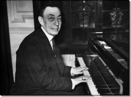Сергей Рахманинов за  фортепиано