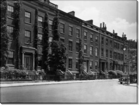 Старые особняки на Вашингтон-сквер. - Рейнхарт, Джордж