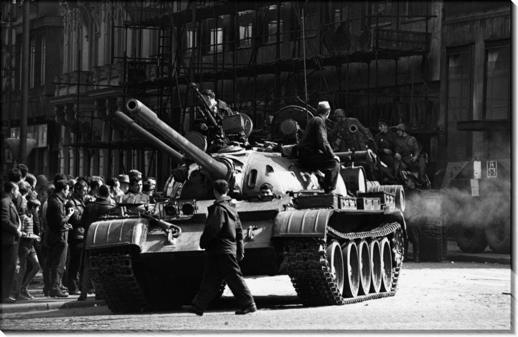 Русские танки в Праге