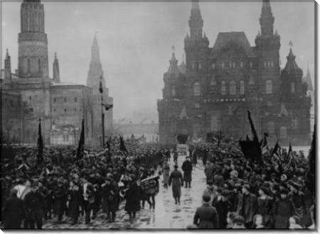 Празднование годовщины Октябрьской революции
