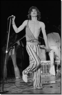 Мик Джаггер на сцене - Престон, Нил