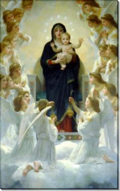 Богоматерь с ангелами - Бугро, Адольф Вильям