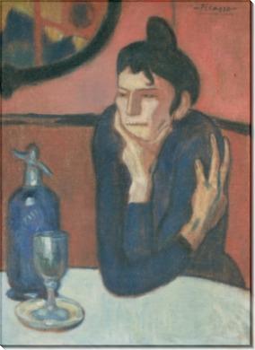 Любительница абсента - Пикассо, Пабло