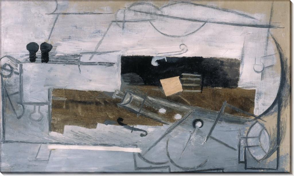 Кларнет и скрипка - Пикассо, Пабло