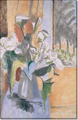 Букет цветов на веранде - Матисс, Анри