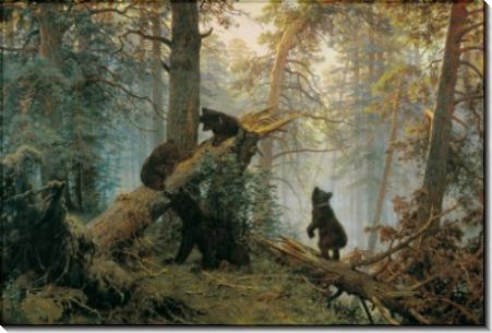 Утро в сосновом бору. Morning in a Pine Forest. - Шишкин, Иван Иванович