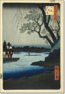 Набережная Оммаягаси - Хиросиге, Андро (Утагава)