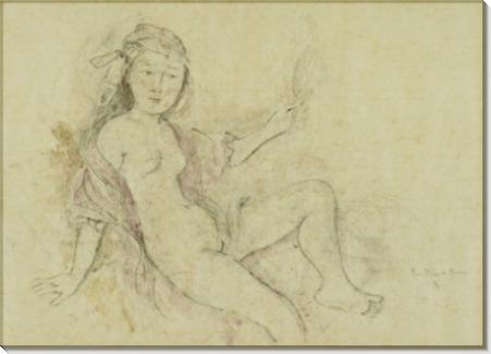 Этюд к картине La Chambre Turque - Бальтус