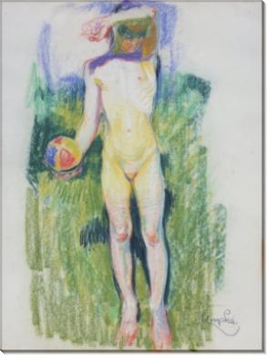 Девушка с мячем - Купка, Франтишек