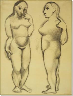 Две обнаженные - Пикассо, Пабло