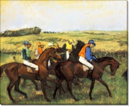 Скачки, 1885 - Дега, Эдгар