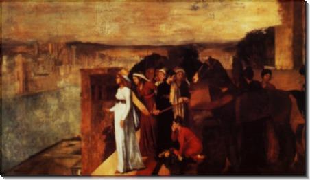Семирамида строит Вавилон1, 861 - Дега, Эдгар