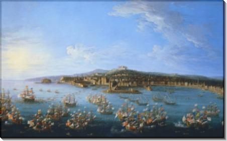 Отплытие Карлоса III из Неаполя в Испанию, 1759 - Джоли, Антонио