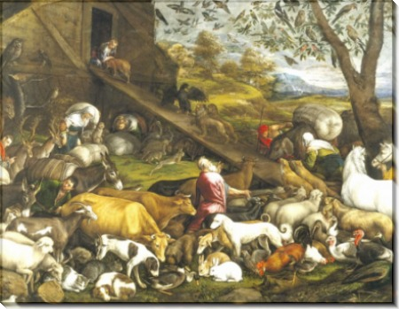 Животные входят в ковчег, 1570 - Бассано, Якопо