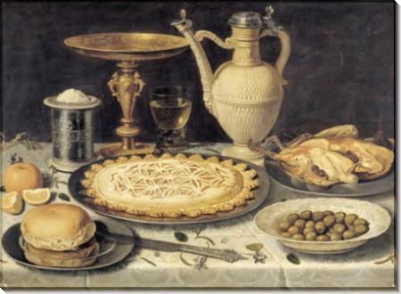 Стол, 1612 - Петерс, Клара