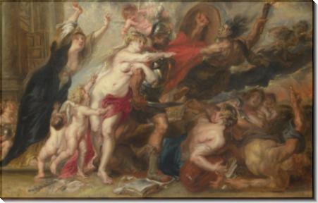 Ужасы войны -  Рубенс, Питер Пауль