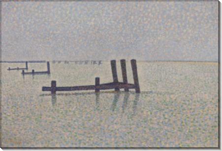 Канал в Ньюпорте - Финч, Альфред Уильям