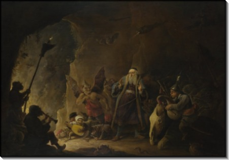Богача ведут в ад -  Тенирс, Давид