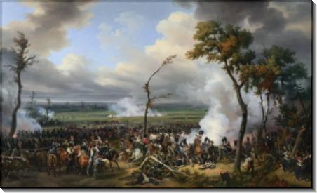 Emile-Jean-Horace Vernet - The Battle of Hanau - Верне, Эмиль-Жан-Орас
