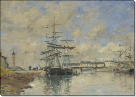 Порт в Довиле - Буден, Эжен