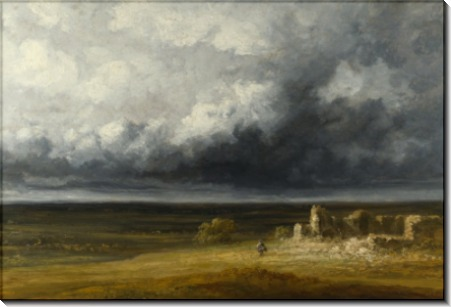 Пейзаж во время бури - Мишель, Жорж