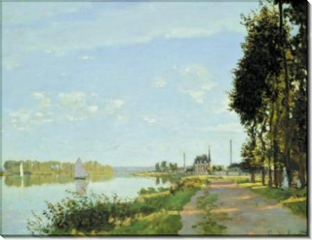 Прогулка в Аржантее, 1872 - Моне, Клод