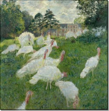 Индюки, 1876 - Моне, Клод