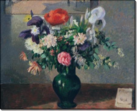 Букет цветов, 1898 - Писсарро, Камиль