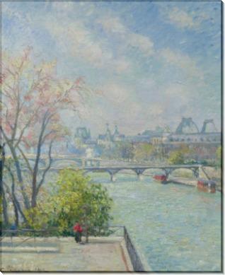 Лувр, утро, весна, 1902 - Писсарро, Камиль