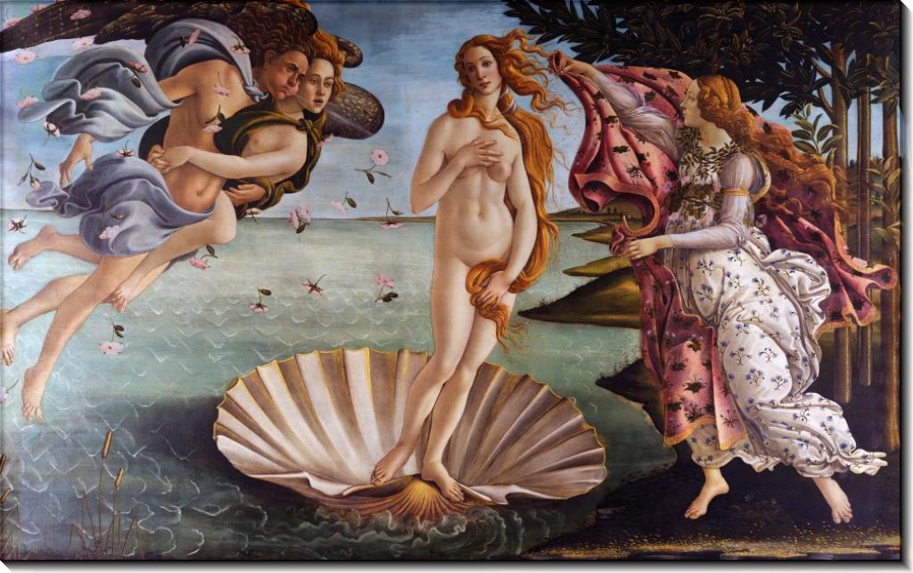 Рождение Венеры - Боттичелли, Сандро